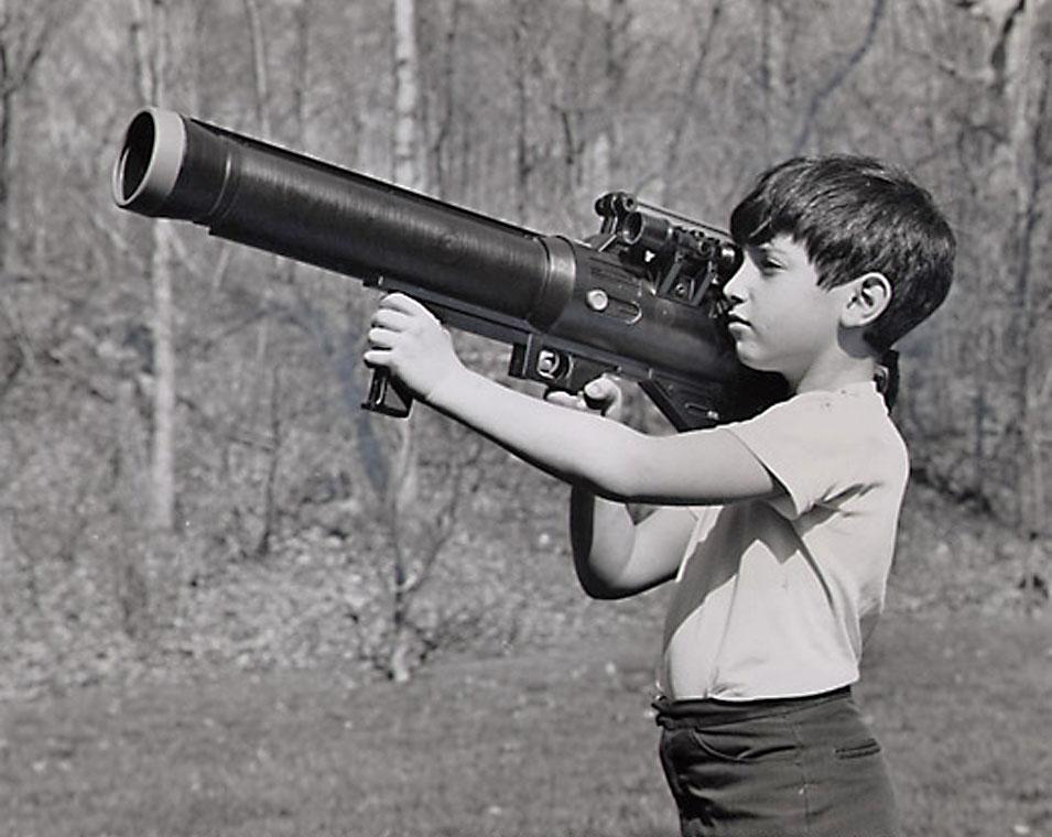 ... big toy gun
