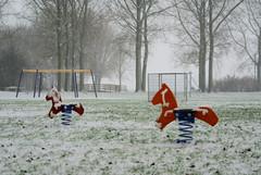 where are the children (Hindrik S) Tags: schnee winter snow playing clouds children play sony sneeuw friesland 2010 leeuwarden speeltuin speelgoed a300 frysln liwwadden ljouwert snie sonyalpha 300 alpha300 sonyphotographing