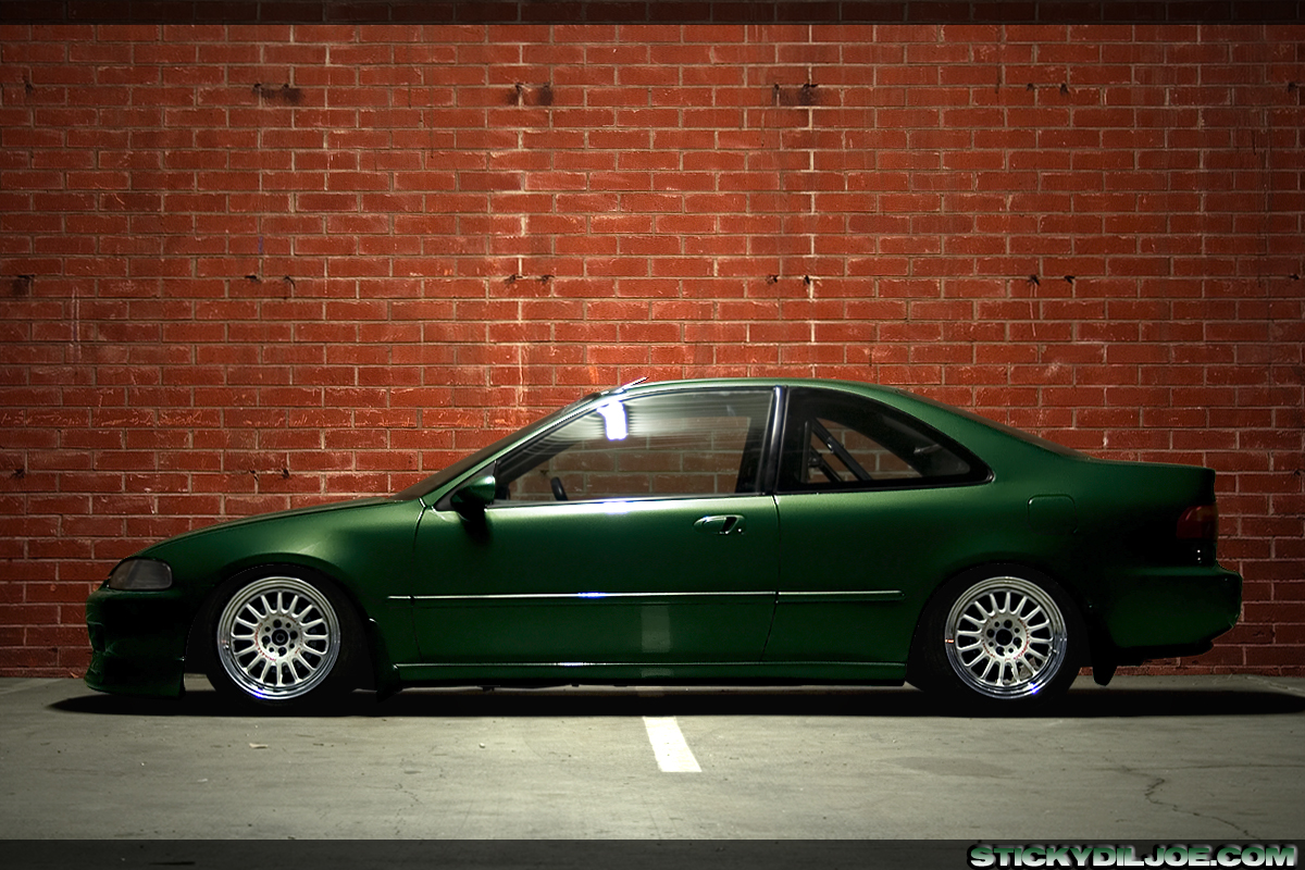 Must See Ej1 Civic Coupe She Sweet To Bad Pics