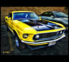 For Mike..my HDR mentor (AceOBase) Tags: ford car yellow canon photography classiccar smooth hotrod mustang hdr carshow musclecar coolcar showcar mach1 carart fordracing tonemapped worldcars hdraddicted hangingoutwiththefamily alltypesoftransport photoartbloggroup certifiedcarcrazy mygearandme