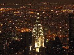 Chrysler Building at night (chrisinphilly5448) Tags: nyc ny newyork manhattan chryslerbuilding 2009 december25 chrisinphilly5448 christopherwoodsphotography chrisinphilly5448yahoocom