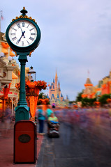 Daily Disney - Monday Method - Main Street Clock
