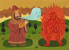 Magic (Jack Teagle) Tags: show painting dead fire acrylic power wizard spirit magic fantasy beast clinic alchemy defend