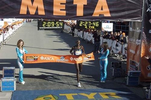 Hillary Kimaiyo Maraton Monterrey 2008