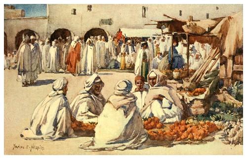 011-Mercado de frutas en Biskra-Algeria and Tunis (1906)-Frances E. Nesbitt