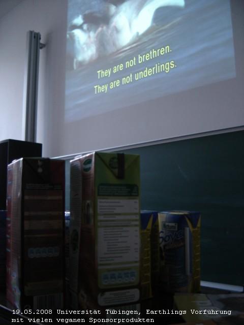 Tübingen: Earthlingsvorführung