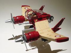 V-22 Phoenix 03 (JonHall18) Tags: plane fighter lego aircraft fantasy scifi moc skyfi dieselpunk dieselpulp