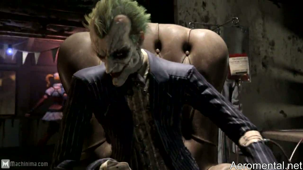 Batman Arkham Asylum 2 Joker sick