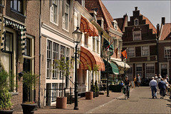 "Enkhuizen ""De Dijk"" (Foto Martien (thanks for over 2.000.000 views)) Tags: street holland history netherlands dutch canal strasse nederland medieval picturesque oldcity enkhuizen ijsselmeer noordholland gracht straat zuiderzee zuiderzeemuseum voc historisch markermeer northholland middeleeuws westfriesland drommedaris dutcheastindiacompany oldcenter a350 historicalcenter oudestad westfrisia historischcentrum vereenigdeoostindischecompagnie sonyalpha350 martienuiterweerd carlzeisssony1680 martienarnhem oudcentrum martienholland"