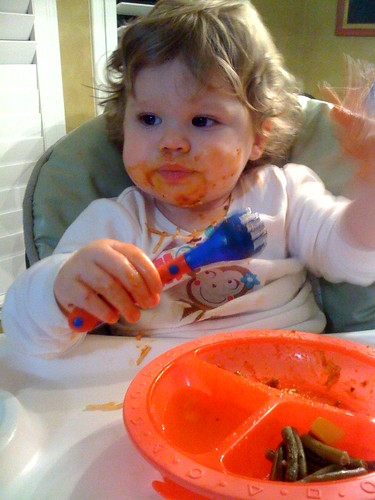 My dinner date has the worst table manners!