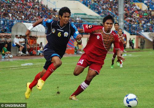 Ridhuan Muhammad, sukses membawa Arema kokoh di puncak klasemen Liga Super