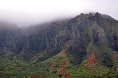 The famous Na Pali fluted cliffs (pjsugi) Tags: backpacking napalicoast kalalautrail