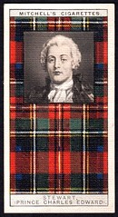 Cigarette Card - Clan Stewart