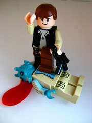 Han shot first (leg0fenris) Tags: mos star starwars lego solo wars iv episode han eisley greedo bountyhunter hanshotfirst legofenris