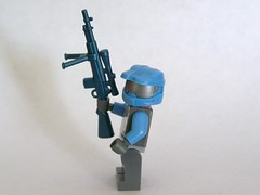 M21 Sniper in Cobalt (The Skull Bandit) Tags: brick art apple movie for tv call arms lego duty ghost engine halo artsy will prototype microsoft amelia trans build cod nerf trade bionicle proto prototypes chapman protos mw2 brickarms mw1