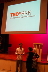 Prepping TEDxBKK