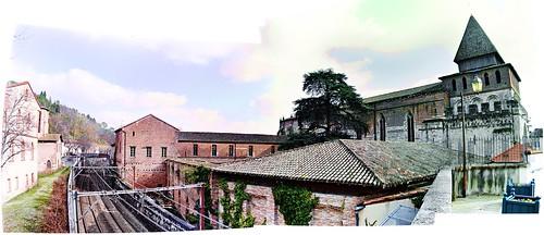 Moissac, vista externa