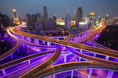 Shanghai (arndalarm) Tags: china light night concrete licht highway shanghai motorway nacht autobahn blingbling explore highrise intersection   shanghaiist frontpage beton gettyimages kreuzung hochhaus  huangpu peoplessquare  arndalarm  zhnggu jwmariott explore10 chengdulu rnmngungchng chongqinglu yananzhonglu  ninedragonpillar yanandonglubridge  img6930cuc50plv101eklein