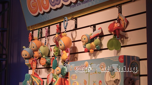 Gloworld rattles and plush toys