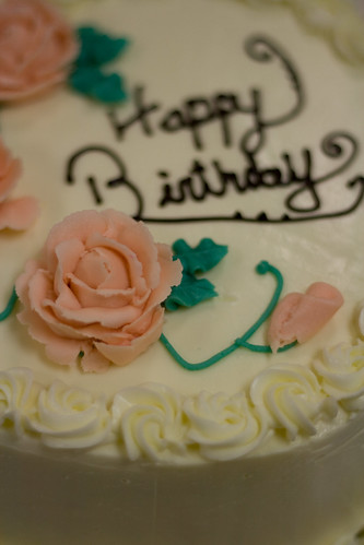 birthday cake rose