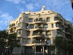 Casa Mil (eveazure) Tags: barcelona spain gaud casamil lapedrera