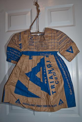 Cement Bag Dress