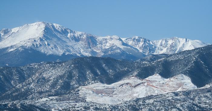 Monochromatic Pikes Peak