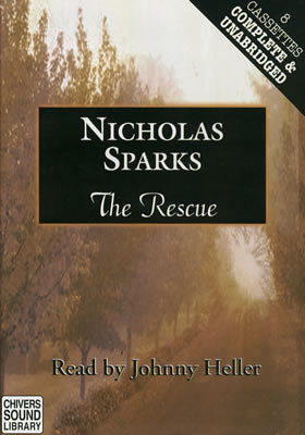 The_Rescue_Nicholas_Sparks_unabridged_library_edition_cassettes[1]