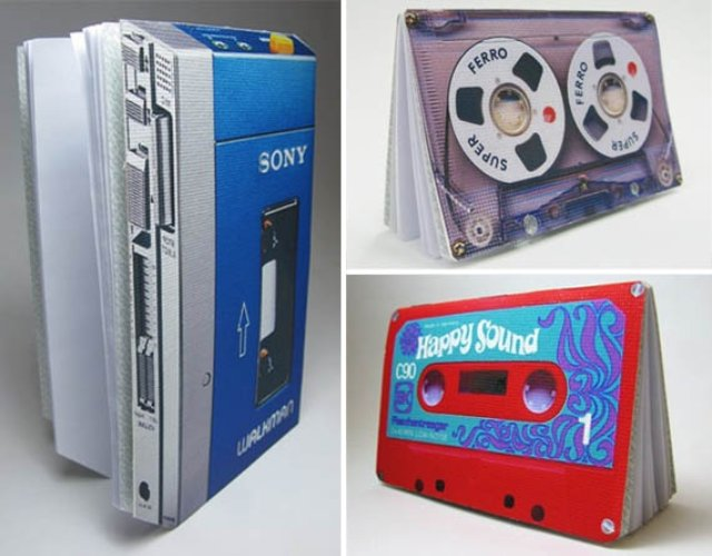 Cassette-Tape-Walkman-Notepads