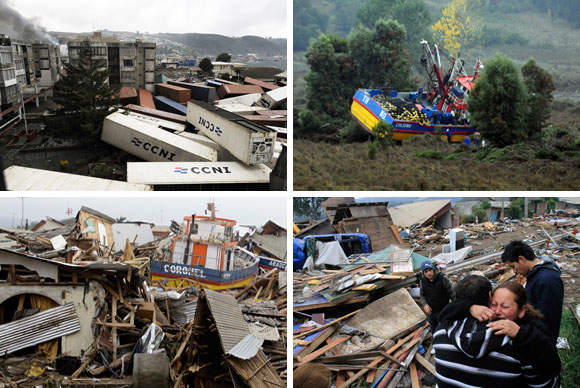 Terremoto de Chile: Los efectos del tsunami
