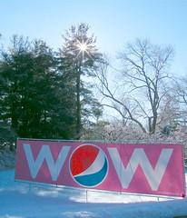 W O W (Stanley Zimny (Thank You for 18 Million views)) Tags: pink winter white snow ny cold ice nature wow seasons snowy freezing fourseasons snowfall purchase pepsico 4seasons