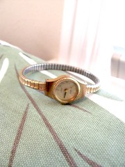 women's vintage Gold watch bracelet, Quartz, Helbros (MySoCalledVintage) Tags: ladies clock fashion vintage gold costume mod time watch jewelry womens cocktail 1950s bracelet faux accessories etsy midcentury costumejewelry madmen mysocalledvintage