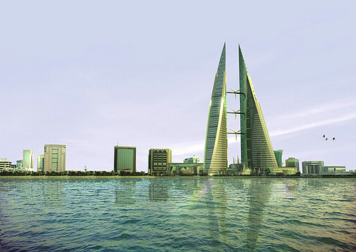 IMAGE BAHRAIN WORLD TRADE CENTER - COPYRIGHT © ATKINS GLOBAL