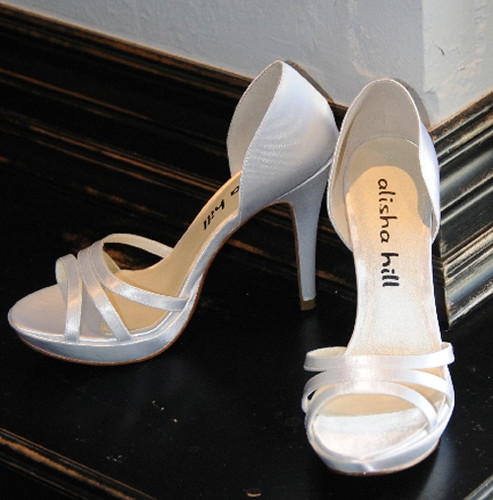 The Alisha Hill, Grace is a high heel wedding shoes.