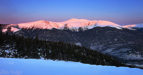 Intense Alpenglow From Wildcat