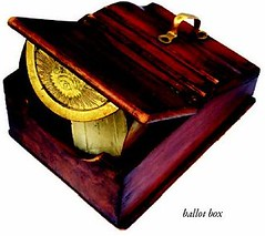 New York Numismatic Club Ballot Box