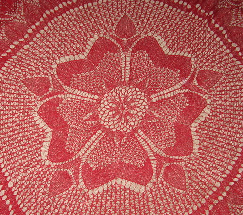 Rose of England Shawl