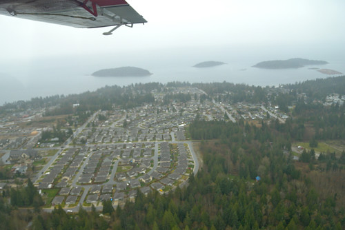 Scenic Flight Around Sechelt with Westcoast Air