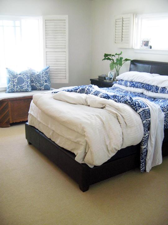 master bedroom progress -carpet 2contrast