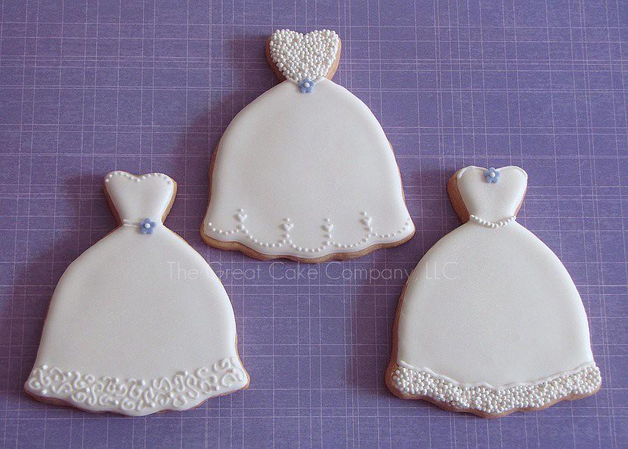 Wedding dress cookie cutter cookie cutter beef roast for Wedding dress cookie cutters