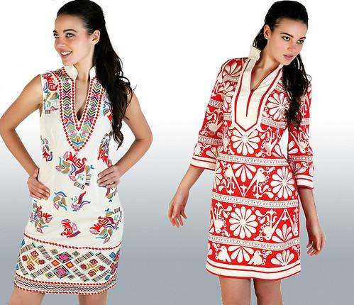 Moda mujer verano 2010, vestidos de Chatik & Kertan