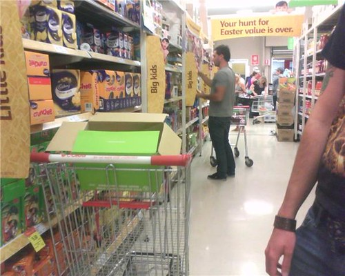 chris joannue buying eggs