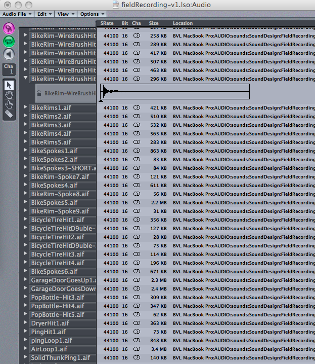 14/52: Logic - Sound List