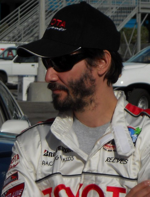 Keanu Reeves, Toyota Grand Prix of Long Beach, Celeb Practice