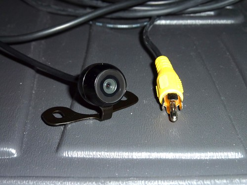 Rear view camera install lots of pics custom non navi subaru the camera is a tiny water proof camera specifically designed for use as a rear view camera it has a 25 foot video cord 12 foot fused power cord asfbconference2016 Images