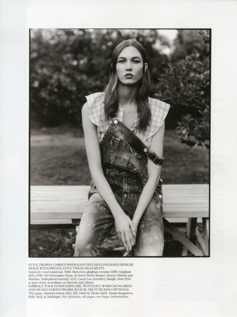 Karlie Kloss by Alasdair McLellan 12