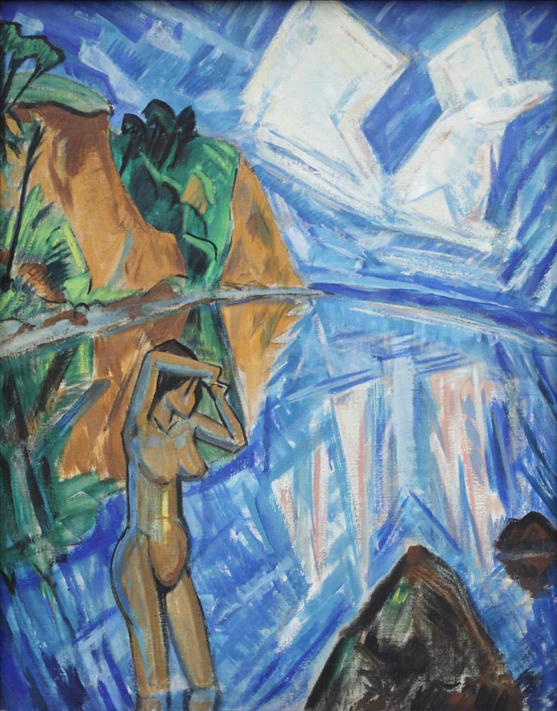 Erich Heckel, Gläserner Tag [Glass day], 1913