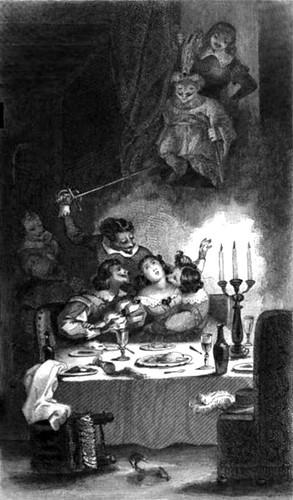 Ilustración para el Diablo Cojuelo