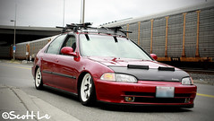 Pierce's Ferio Re-Edit (Scott Le) Tags: sedan honda civic ferio eg9