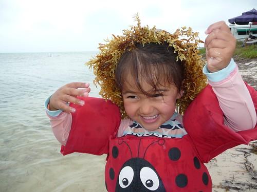 seaweed hair.